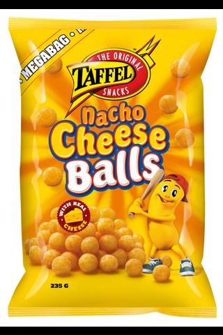 Taffel 235g Nacho Cheese Balls maustettu juustosnacks