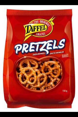 Taffel 150g Pretzels suolarinkeli leivottu snacks
