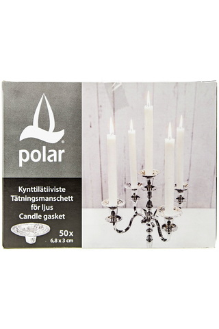 Polar kynttilä tiiviste 50kpl