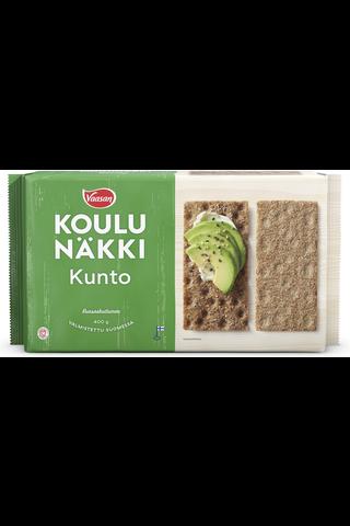 Vaasan Koulunäkki 400g Kunto leseripoteltu täysjyväruisnäkkileipä