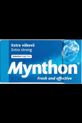 Mynthon 35g Väkevä Sokton sokeriton pastillirasia