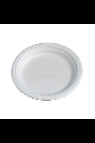 Huhtamaki Säästö Bioware 20x17cm kuitulautanen valkoinen