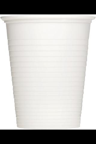 Huhtamaki Säästö 80x20cl valkoinen muovipikari