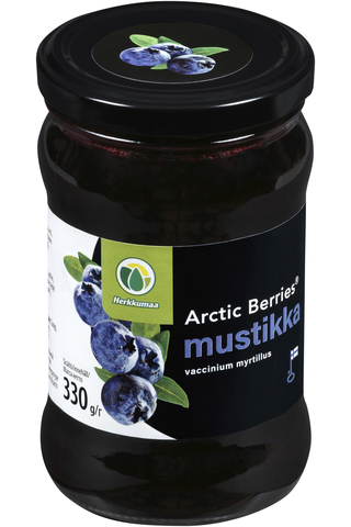 Arctic Berries 330g Mustikkahillo