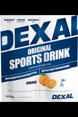 Dexal Original sports drink urheilujuomajauhe appelsiini 35g