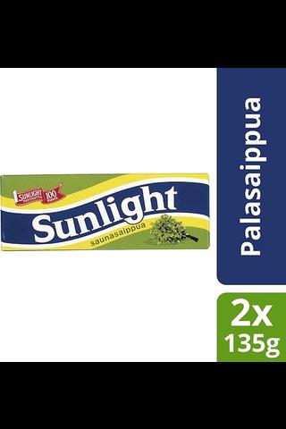 Sunlight 2x135g palasaippua