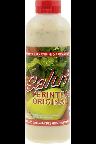 Saluti 500ml salaattikastike perinteinen