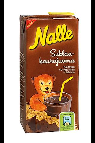 Nalle 0,75l suklaakaurajuoma