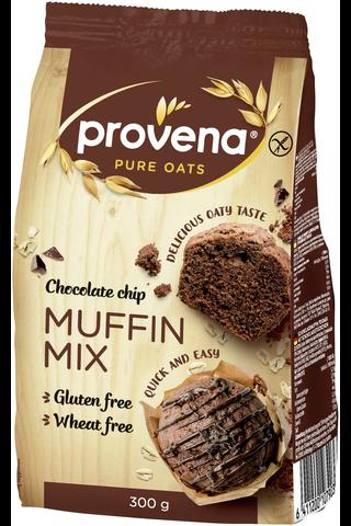Provena 300g gluteeniton suklaamuffinssimix suklaapaloilla