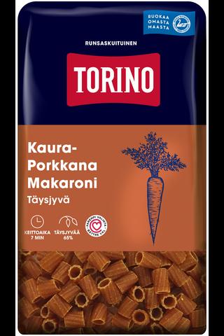 Torino 380g kaura-porkkana täysjyvämakaroni