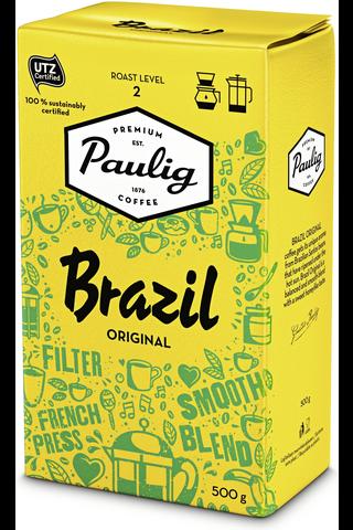 Brazil Original 500g hienojauhettu kahvi