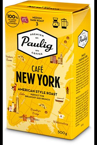 Paulig Café New York 500g hienojauhettu kahvi
