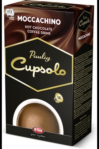 Paulig Cupsolo Moccachino UTZ 16kpl kahvikaakaojuomajauhe