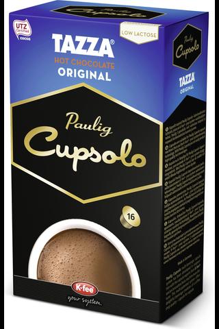 Cupsolo Tazza UTZ 16 kpl kaakaojuomajauhe, vähälaktoosinen