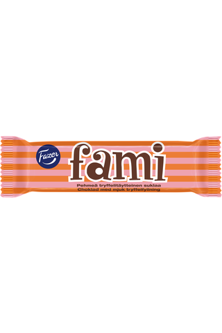 Fazer 32g Fami tryffelitäytteinen suklaapatukka