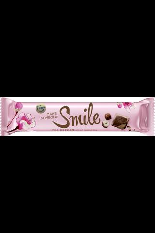 Geisha 37g hasselpähkinänougat täytteinen (40%) suklaapatukka