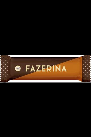 Fazerina 37g maitosuklaata ja appelsiininmakuista (40%) tryffelitäytettä, suklaapatukka