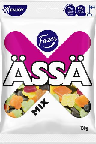 Ässä Mix 180g hedelmä- ja lakritsimakeisia, makeissekoitus