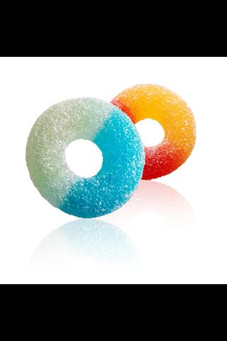 Tutti Frutti Rings 1,7kg sokeroituja hedelmänmakuisia makeisia