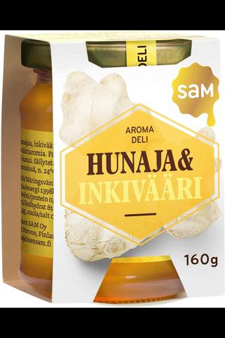 SAM AromaDeli Hunaja&Inkivääri 160g