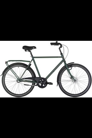 """Tunturi miesten pyörä Havu 28"""" 3v 56cm vihreä"""