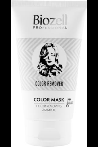 Biozell Professional Color Mask Color Remover värinpoistoshampoo 150ml