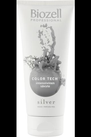 Biozell Professional Color Tech Intensiivinen sävyte Silver 200ml