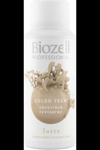 Biozell Professional 100ml Color Tech Sävyttävä Tyvispray Latte