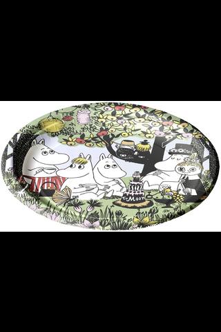Moomin Party kartonkilautanen 22cm 12kpl