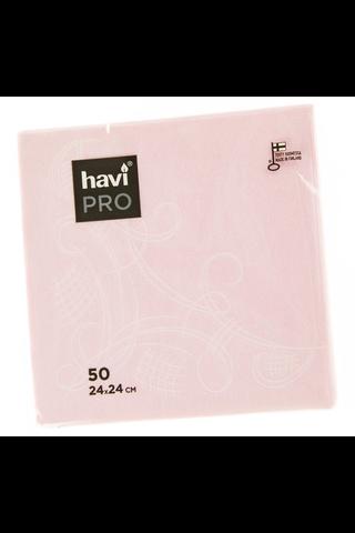 Havi Pro 50kpl/24cm Unelma koristeliinalajitelma vaalpun, vaalsin, koralli, keltainen, keväänvihreä