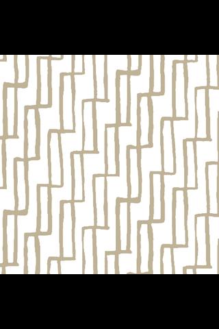 Havi-Samuji 20kpl/33cm Art deco valkokulta lautasliina