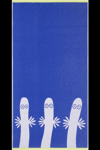 Finlayson kylpypyyhe Hattivatit 70x140cm sininen