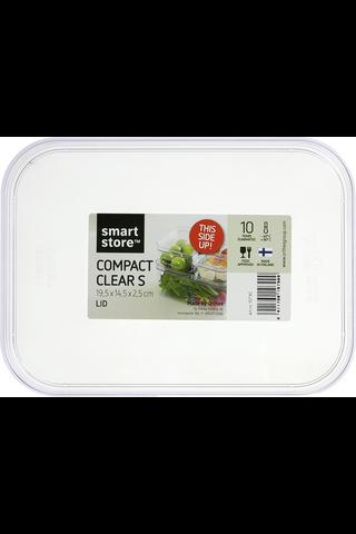 Orthex SmartStore Compact S säilytyslaatikon kansi kirkas