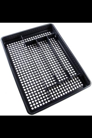 Gastromax aterinlaatikko iso 41x31cm harmaa