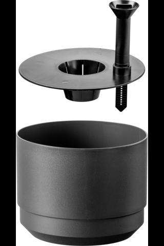 Säiliöruukku 17 cm Orthex tummanharmaa