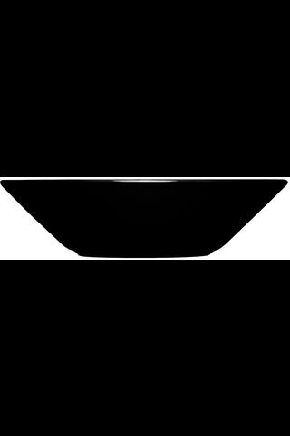 Iittala Teema syvä lautanen 21cm musta