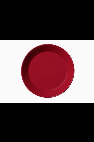 Iittala Teema lautanen 17cm punainen
