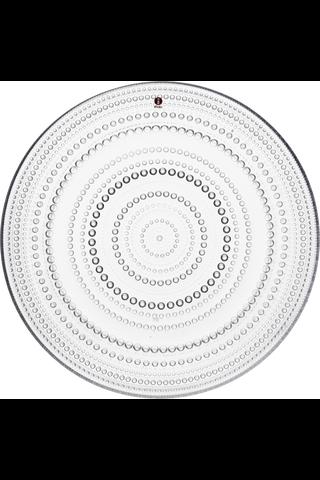 Iittala Kastehelmi lautanen 31,5cm kirkas
