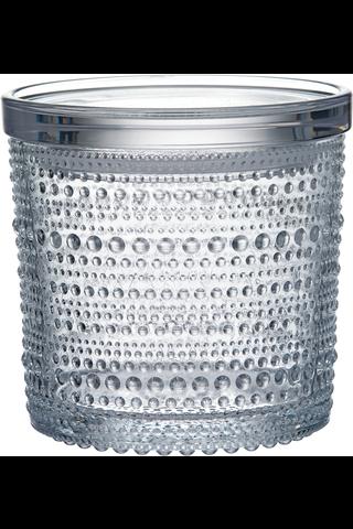 Iittala Kastehelmi purkki 11x11cm kirkas