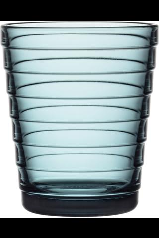 Iittala Aino Aalto juomalasi 22cl merensininen 2kpl