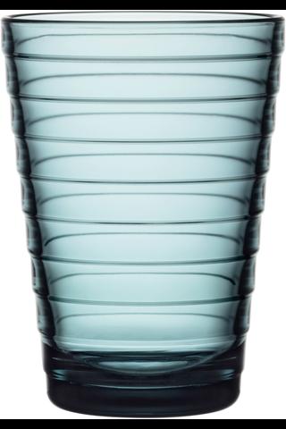 Iittala Aino Aalto juomalasi 33cl merensininen 2kpl