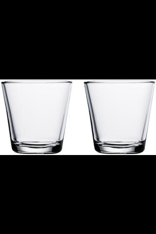 Iittala Kartio juomalasi 21 cl, 2 kpl, kirkas