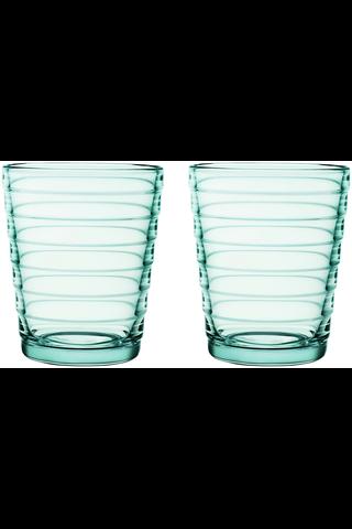 Iittala Aino Aalto juomalasi 22cl vedenvihreä 2kpl