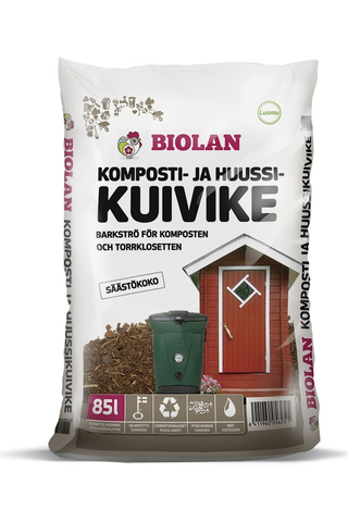 Biolan 85l komposti- ja huussikuivike