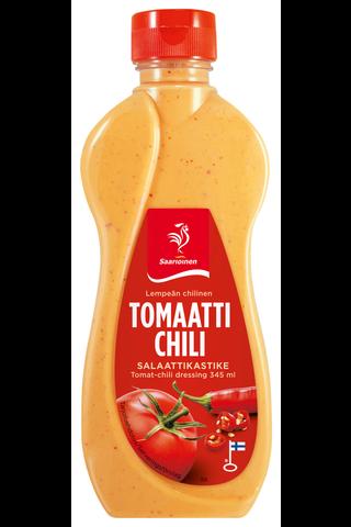 Saarioinen Tomaatti-chili salaattikastike 345ml