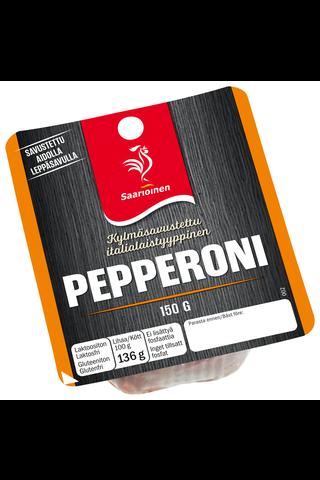 Saarioinen Pepperoni viipale, kestomakkara 150g