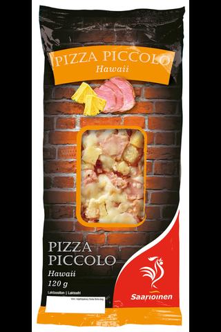 Saarioinen 120g pizza piccolo hawaii kinkku-ananaspizza