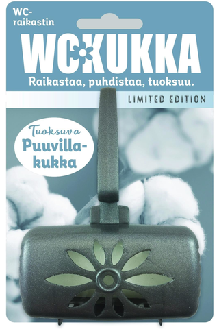 WC Kukka 50g Puuvillakukka wc-raikastin LIMITED EDITION