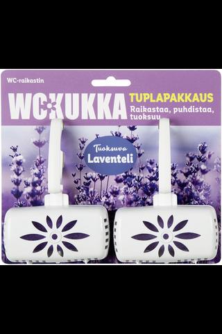 WC Kukka Laventeli tuplapakkaus wc-raikastin 2x50g
