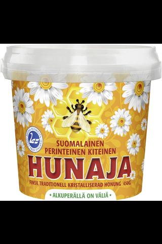 Hunajayhtymä 450g Suomalainen perinteinen kiteinen hunaja